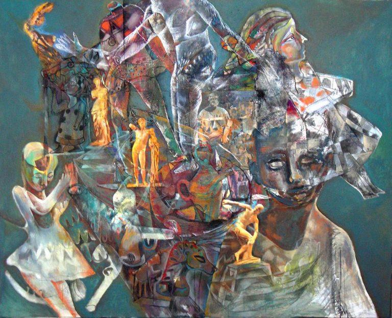 Serie Esculturas Humanas, 2009